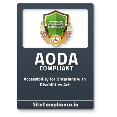 AODA Badge