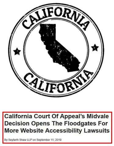 California UNRUH Act Image